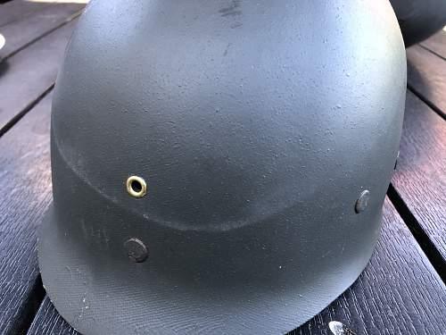 Danish M/48 helmet Part 2 (1951-1952), second batch, The Diaward M1 Helmet.