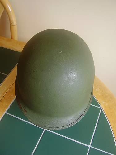M1 helmet....is it 1961/65 type
