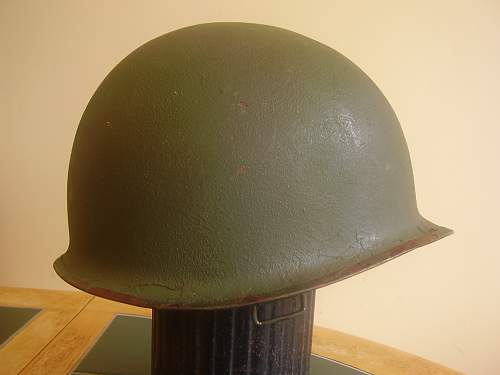 M1 helmet....is it 1961/65 type