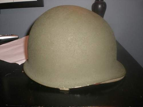 M1 Early War Helmet with Hawley Liner