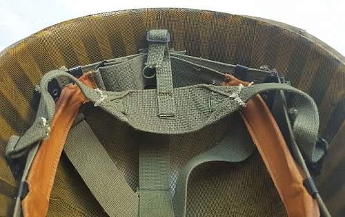 Late Vietnam War M1 Helmet