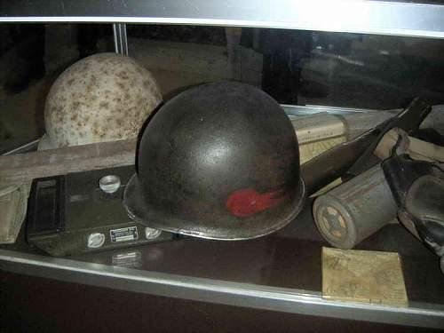 Us helmet of WW2