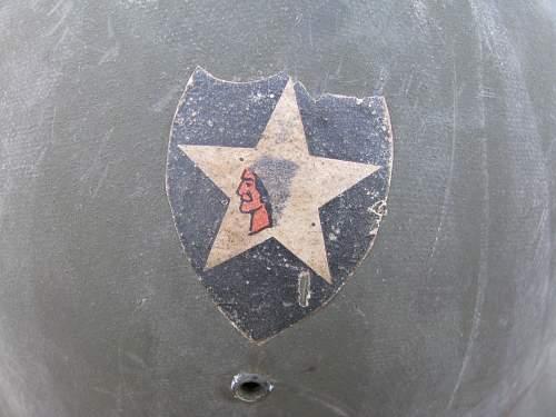 Front seam, swivel bale M1, 2nd ID