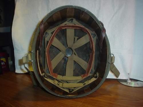 Late War M-1 helmet