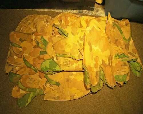 """U.S. """"Leaf"""" Camo Covers"""
