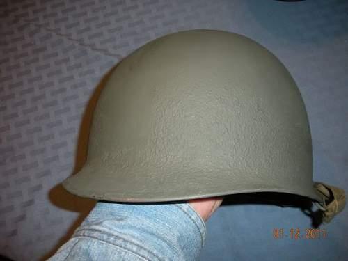 Click image for larger version.  Name:US Helmet M1 port quarter.jpg Views:55 Size:39.0 KB ID:169875