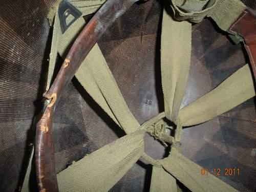 Click image for larger version.  Name:US Helmet M1 Liner close inside.jpg Views:54 Size:72.9 KB ID:169878