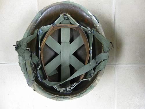 Spooky Vietnam era helmet?
