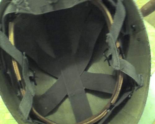 Us 1960's paratrooper helmet liner. Whats it worth?