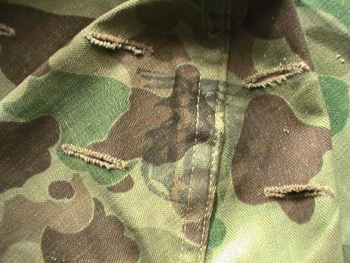 1953 second pattern M-1 camo cover