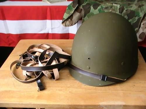 M-1 helmet liner chin straps