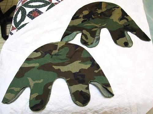 M1 Camo Helmet Covers