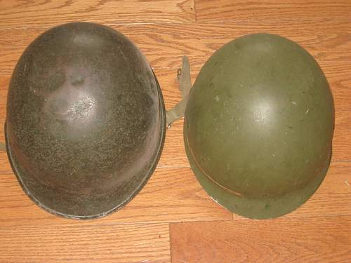 Is this the real deal? US ww2 helmet
