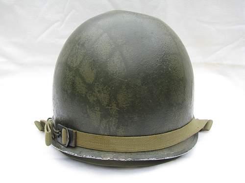 Camoed M1 - Rear Seam - Lieutenant's Bar