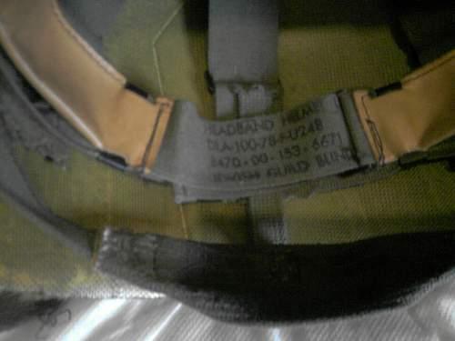 Need help identifying US M1 Helmet