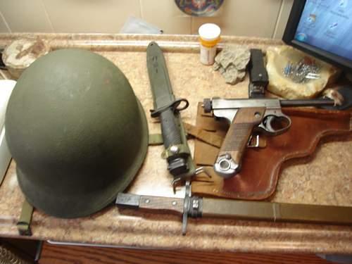 "US M-1 fixed bale ""trailblazers"""