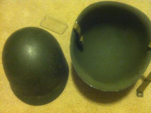 I need some info on an M1 helmet