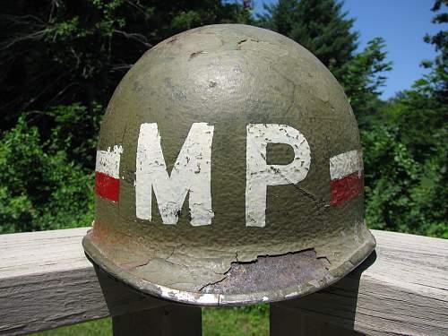 Front Seam M1 - 385 Military Police Battalion