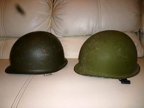 M1 Helmets from El Salvador & Mexico