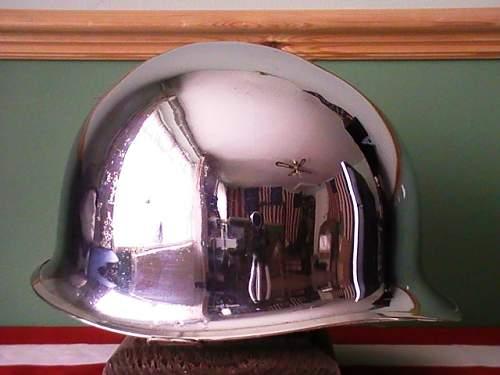 Chrome M-1 Helmets?
