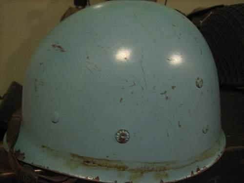 Question: WWII M1 Helmet Navy? Marine? Anybody Know?