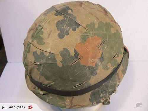 M1 Helmet help