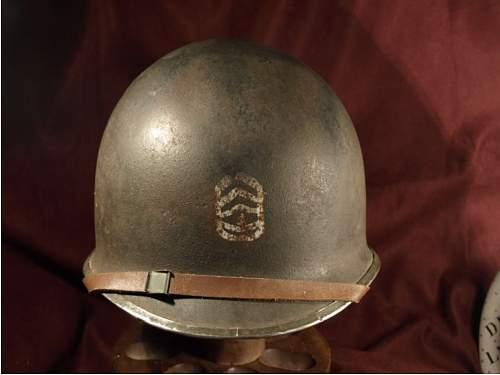 WWII Sargeant's Helmet