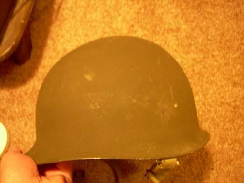 ww2 m1 helmet shell value