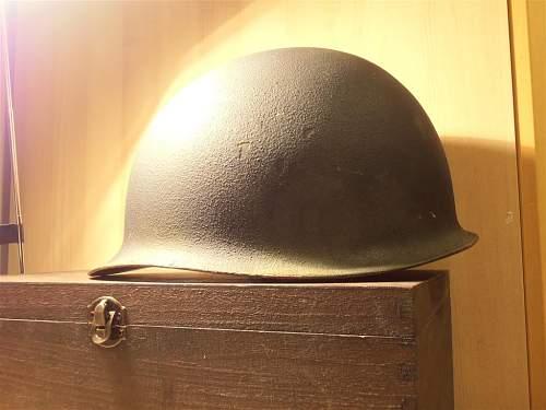 M1 steel helmet ?