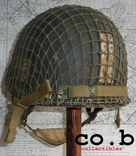 WWII M-2 D BALE or M-1 C HELMET ???