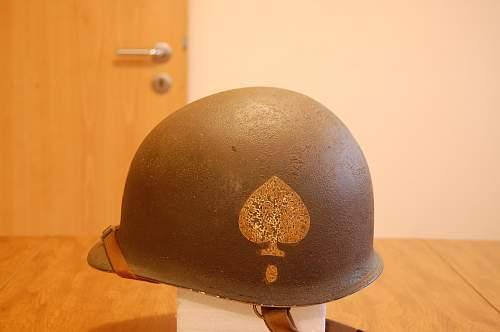 M1 D-Bale Paratrooper Helmet
