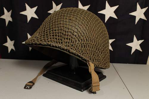 WWII Fixed Bale M1 and Net