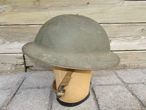 U.S. WW2 M-1917A1 Helmet. Opinions?