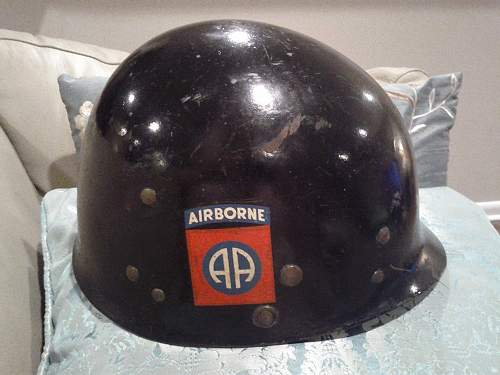Just got this 82nd Airborne Helmet - Real or not?