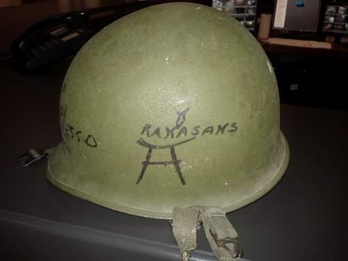 My First M1C Helmet!