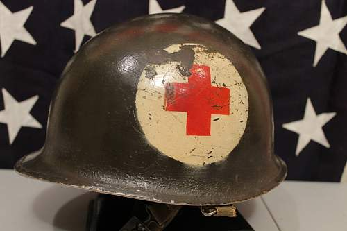 Korean War Medics Helmet