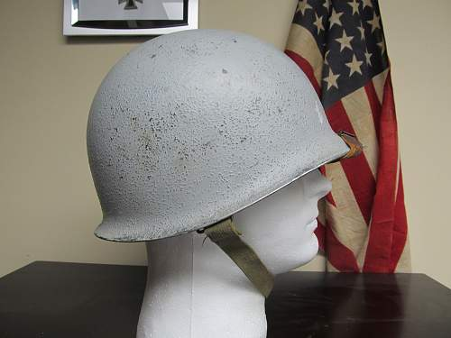 Grey U.S. Navy fixed bale M1