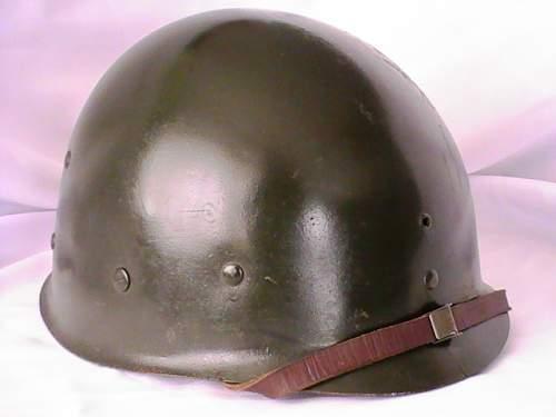 Ebay m1 fixed bale helmet.