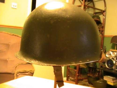 Another fixed bail M1 US helmet