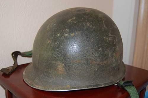 M1 Helmet date?