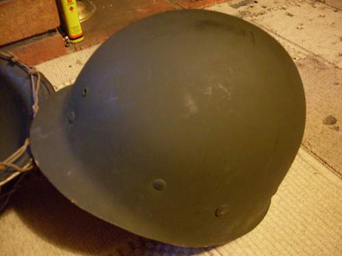 Us m1 helmet (pictures for reference)