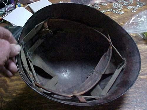 Questions about restoring a M1 Helmet liner