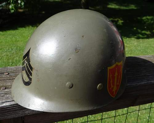 WWII McCord FB Helmet Ebay find