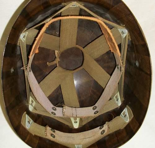 USMC M1 helmet paint?