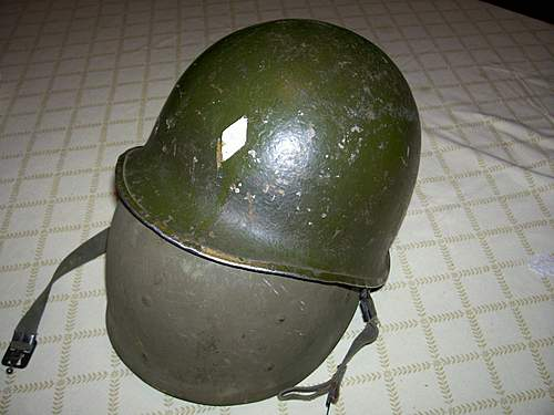 US M1 Helmet - questions about paint and condition