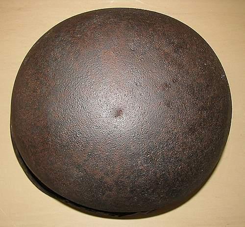 American helmet found at Omaha Beach for sale...