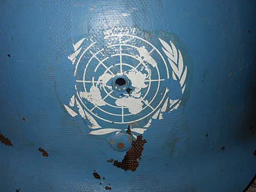 UN painted WW2 liner