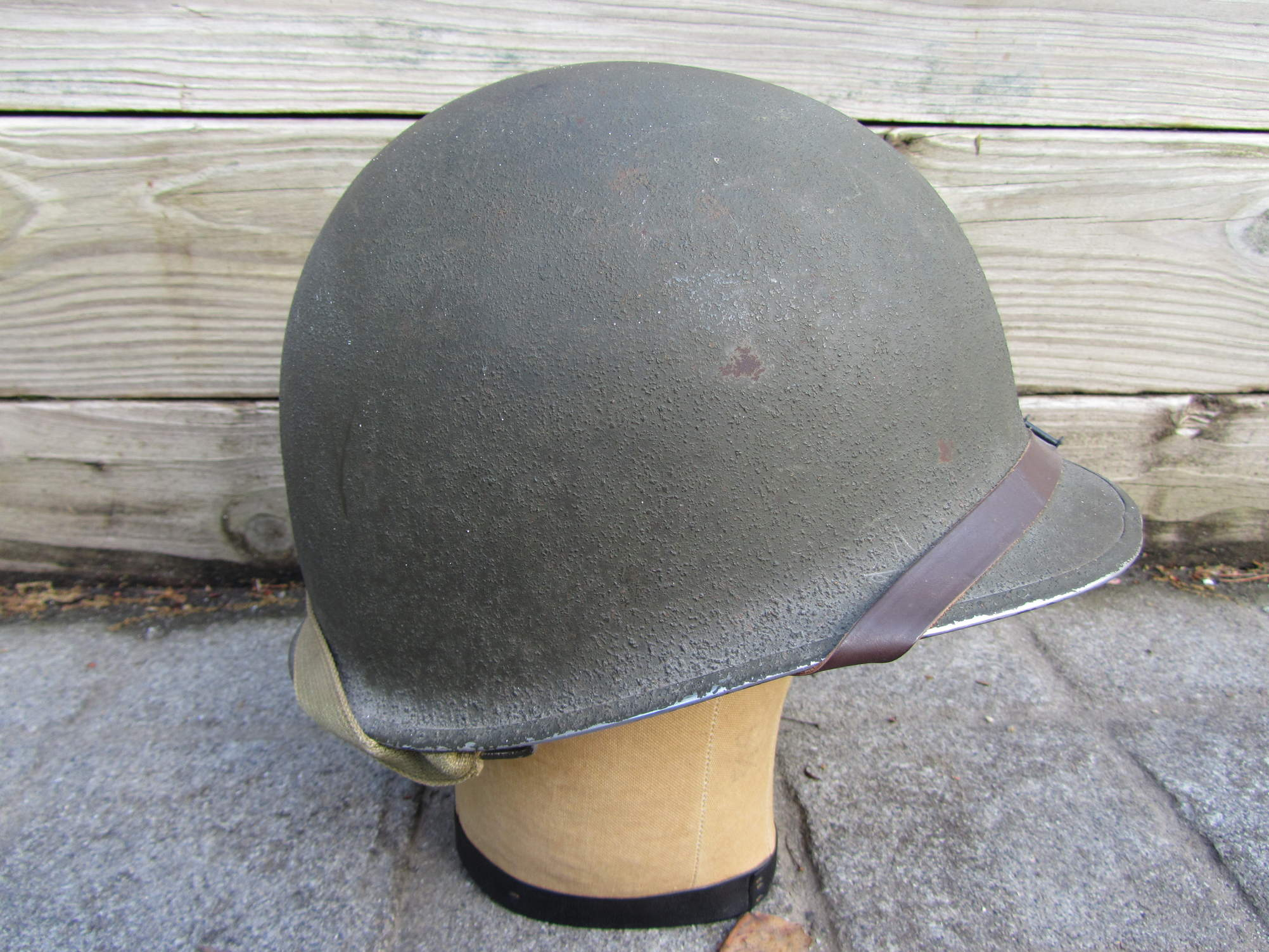 Can someone identify this chinstrap on my ww2 m1 helmet
