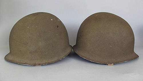 Why does schlueter's m1 helmet look different than mccords?