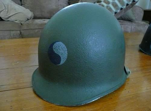 29th Infantry Division Helmet eBay